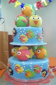 Birthday cake for one-year old